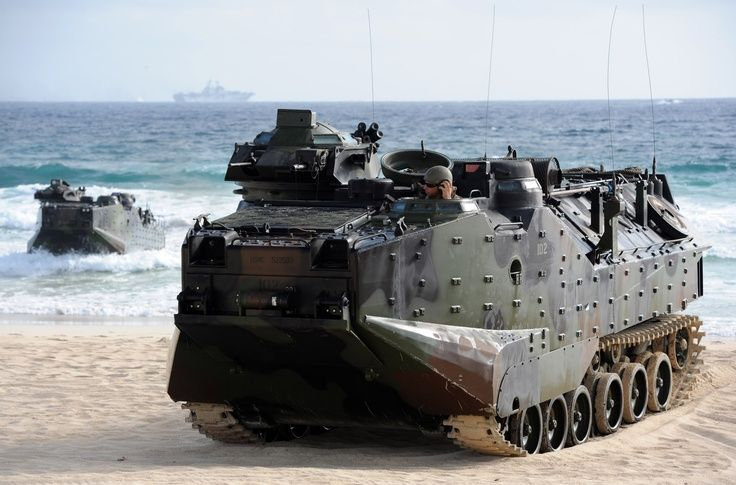 Usmc Amphibious Assault Vehicle Military Vehicles Tanks Military Amphibious Vehicle