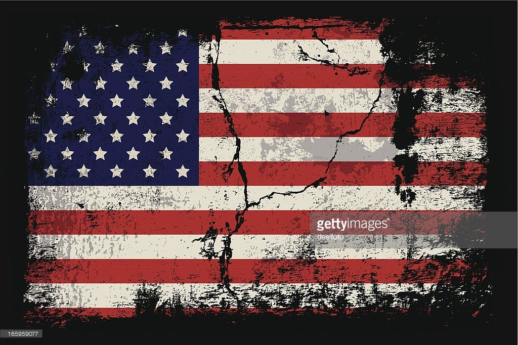 Vector Art Grunge Illustration Of The American Flag Flag Illustration Life Art
