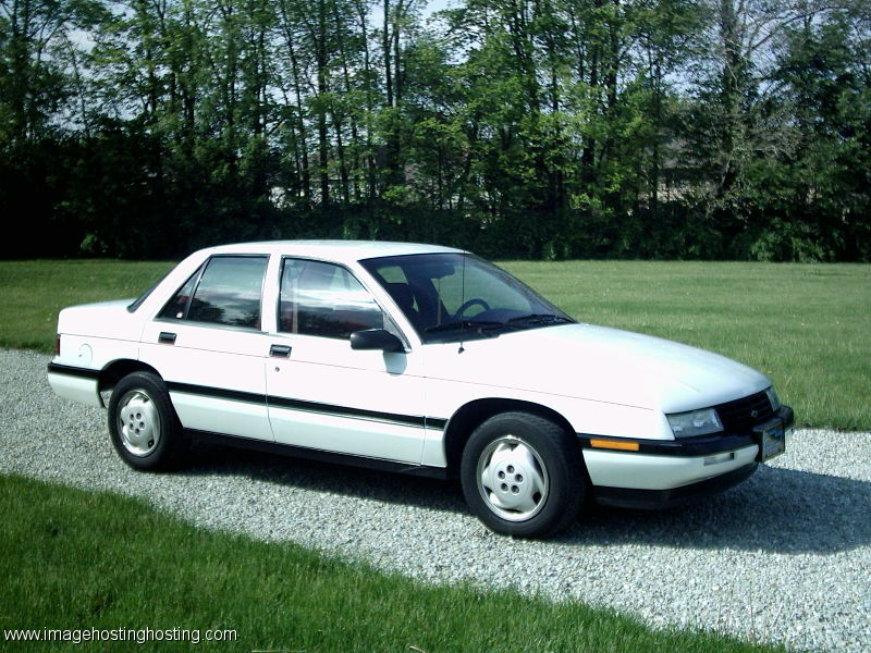 My 4th A 95 Chevy Corsica White Chevrolet Corsica Old American Cars