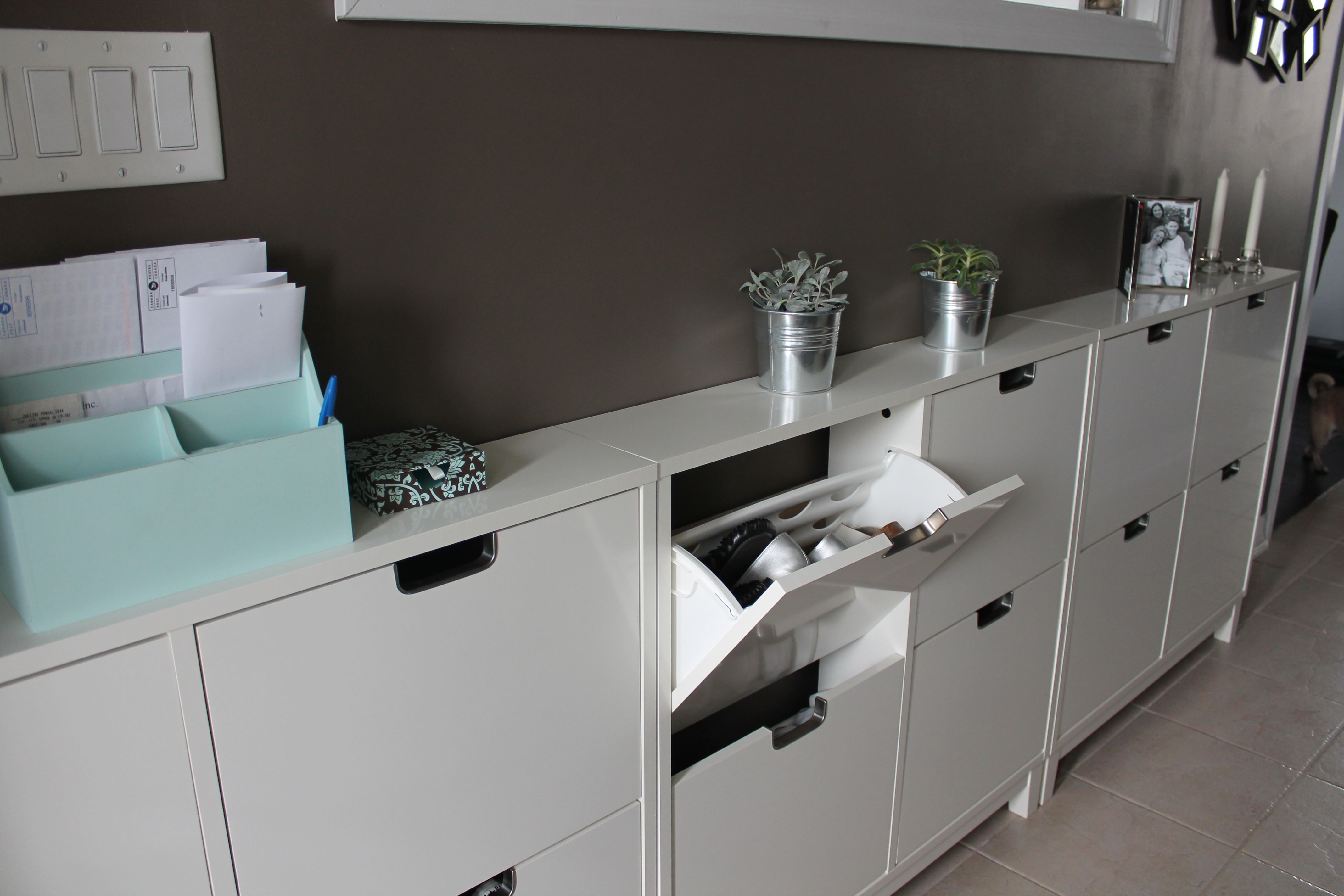 Ikea Stall Shoe Cabinet Keeps Shoes Tucked Away Neat And Tidy