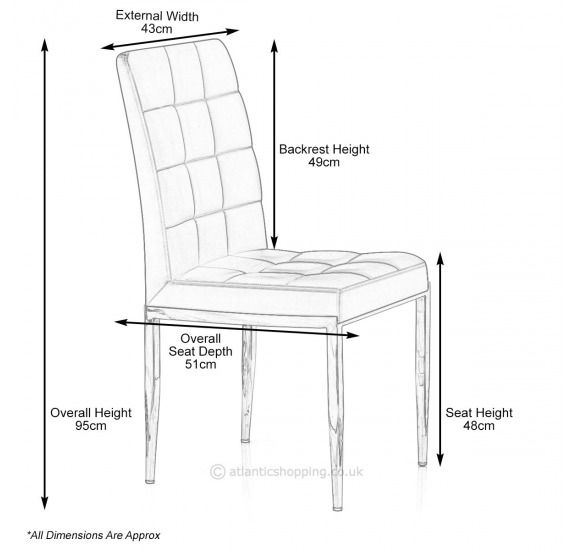 dining chair size  Architecture standardsize  Wooden