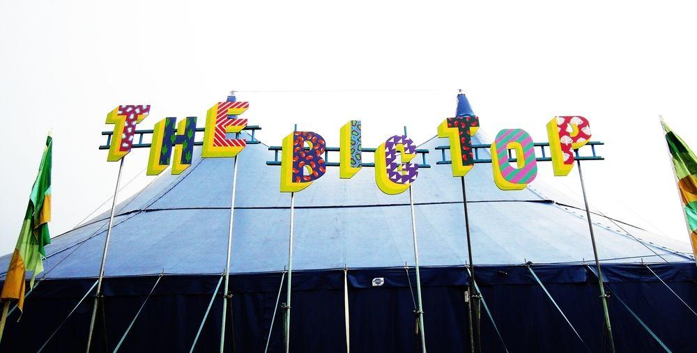 lovebox festival signage / london
