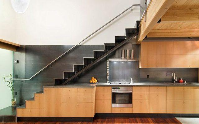 cocina bajo una escalera - Buscar con Google casa Pinterest - Diseo De Escaleras Interiores