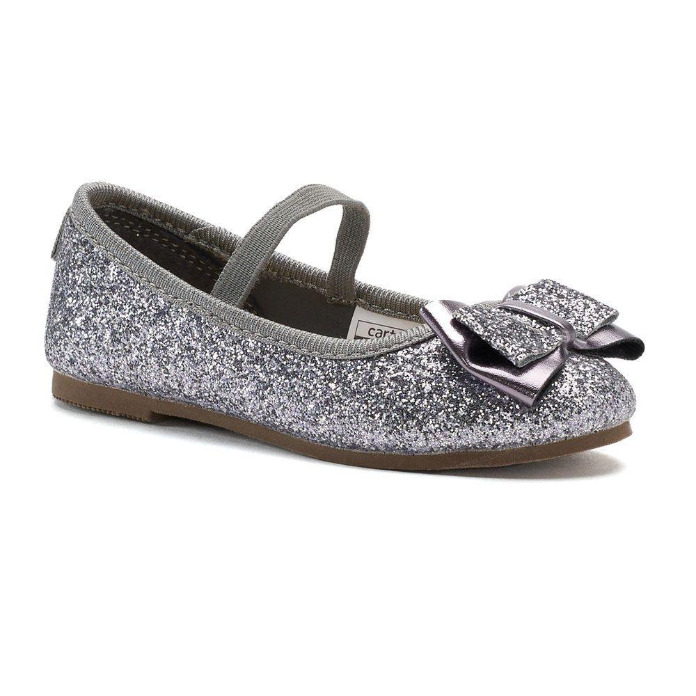 4ef3b461775d3 Carter's Big Bow Toddler Girls' Ballet Flats | Products | Girls ...