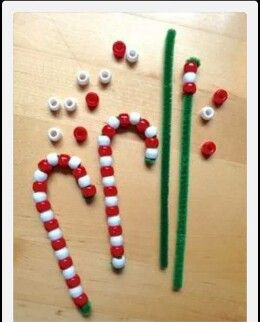 Fun Christmas craft for kids. No link but looks pretty simple