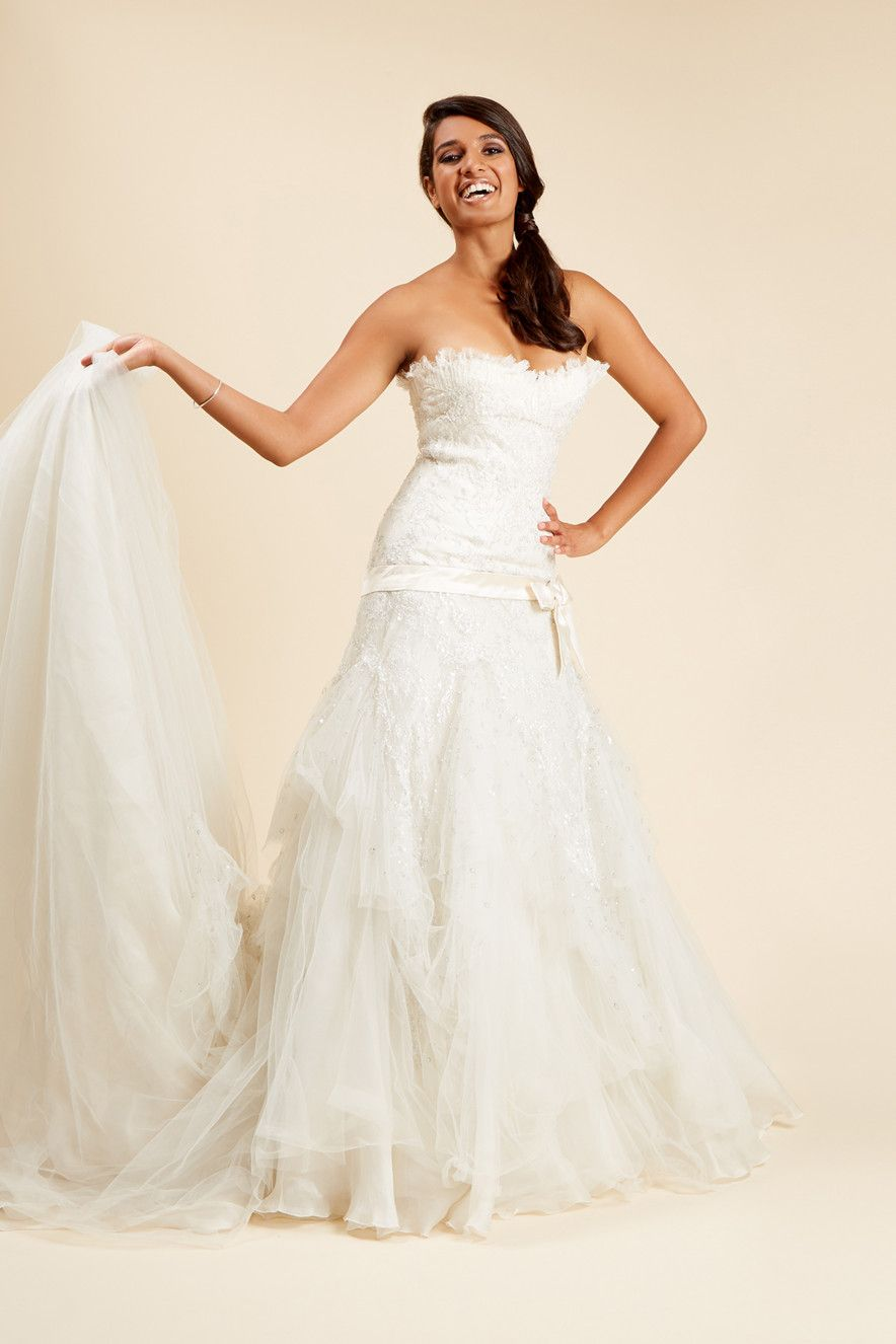 The allegra wedding dress by elie saab for pronovias size the