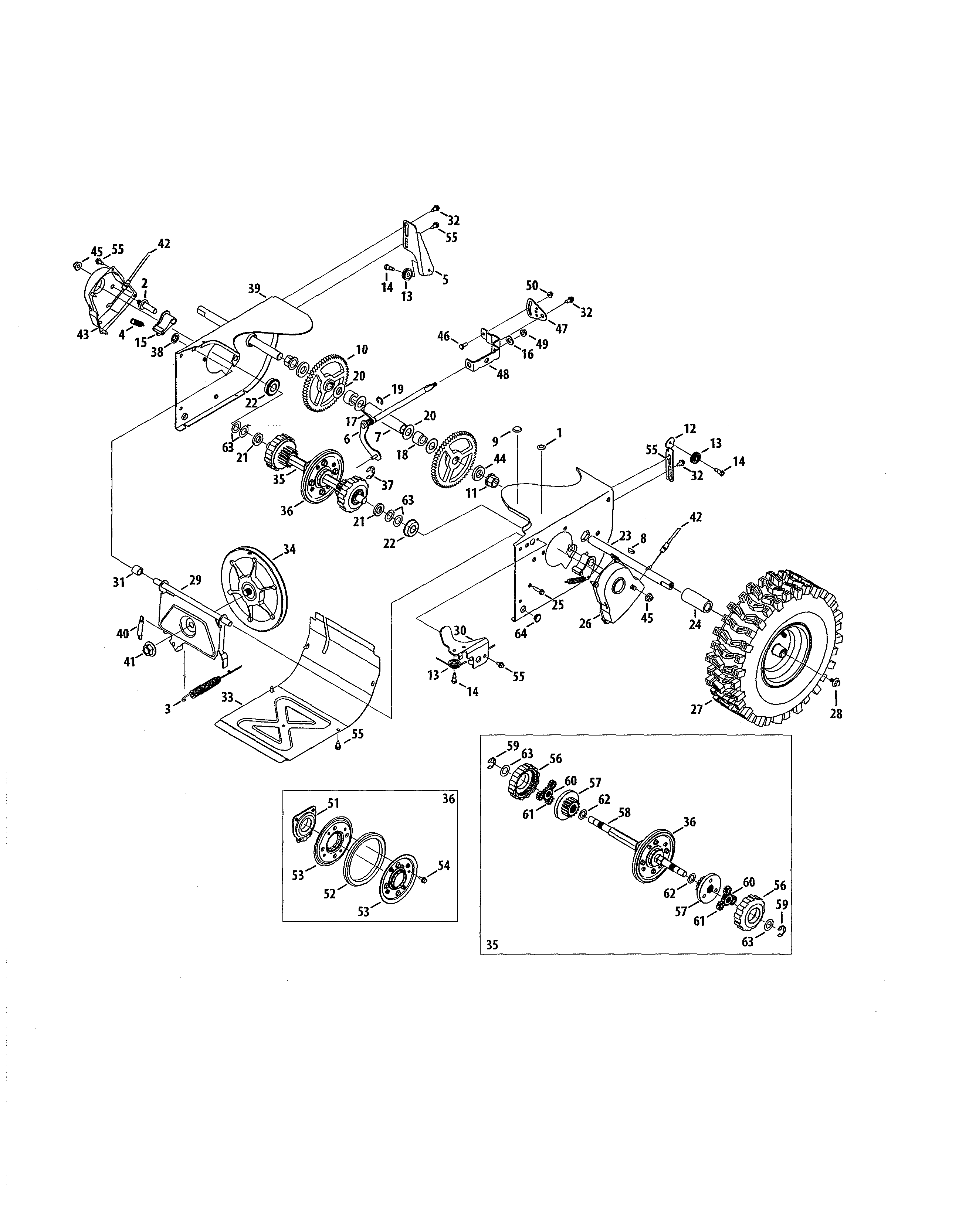30 Craftsman Snowblower Parts Diagram