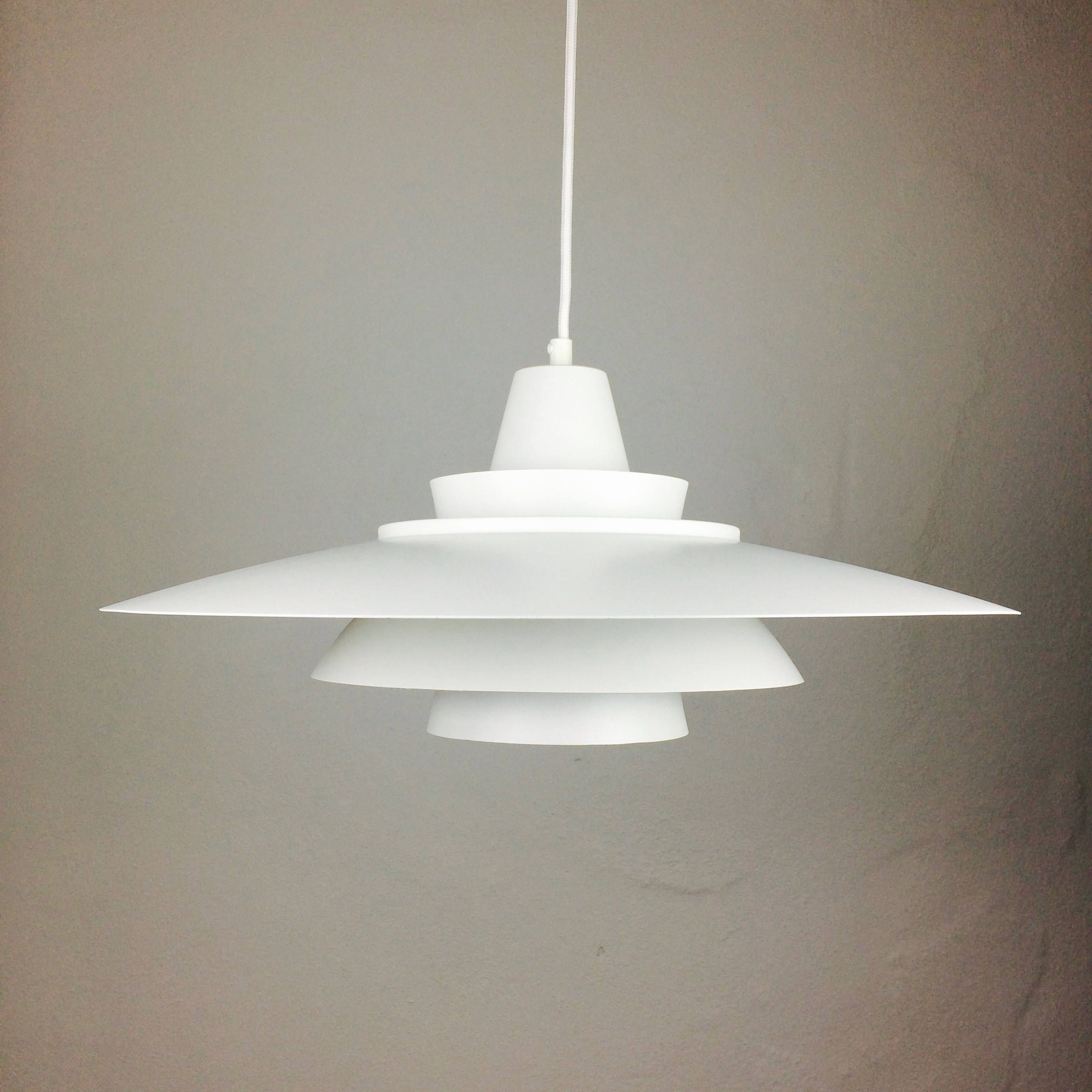 Super Light - Danish Vintage Design - 70s Mid Century Modern Fixture ...