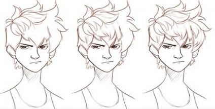 56 Ideas Hair Drawing Tutorial Guy -   14 mens hair Drawing ideas