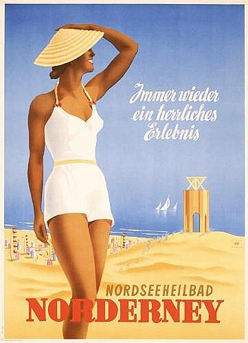 Norderney - 1952 - (Willy Hanke) -