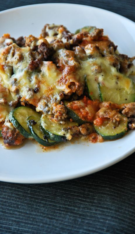 Zucchini Lasagna Beef Recipes Pasta Dishes Ground Beef Recipes