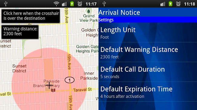 Arrival Notice, aplicación que realiza una llamada perdida cuando llegamos a un sitio http://www.genbeta.com/p/67995