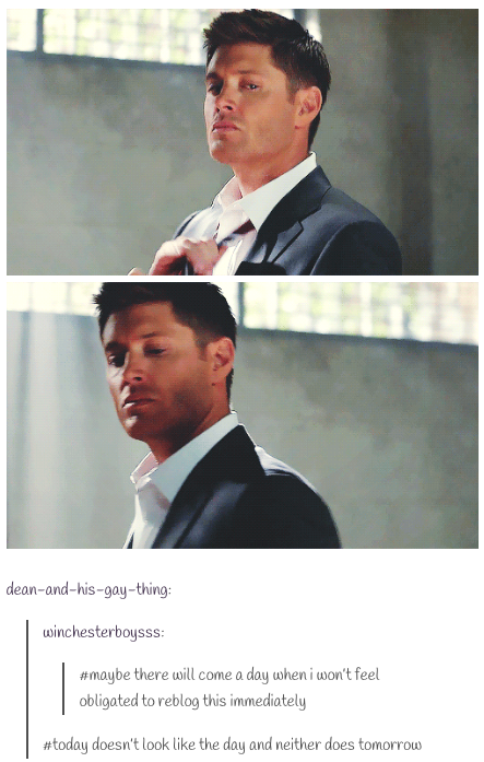 Dean taking off his tie is it just me or does he look like hes dean taking off his tie is it just me or does he look ccuart Gallery