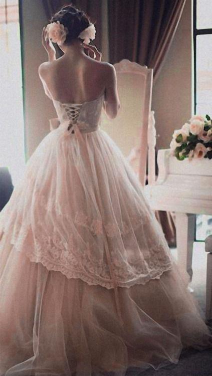 Vintage Inspired Bridal Gown ~