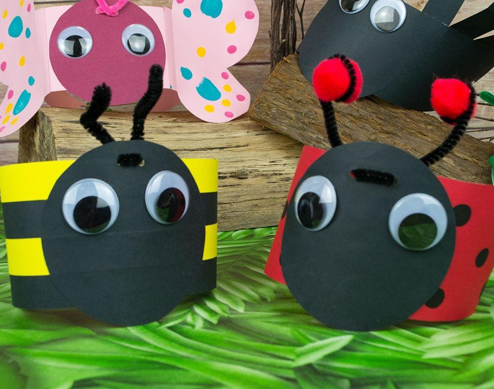 Buzzy Bee Headband Kids Bug Craft Idea Bug Crafts Insect