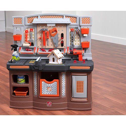 Step 2 Home Depot Big Builders Pro Workshop Home Depot