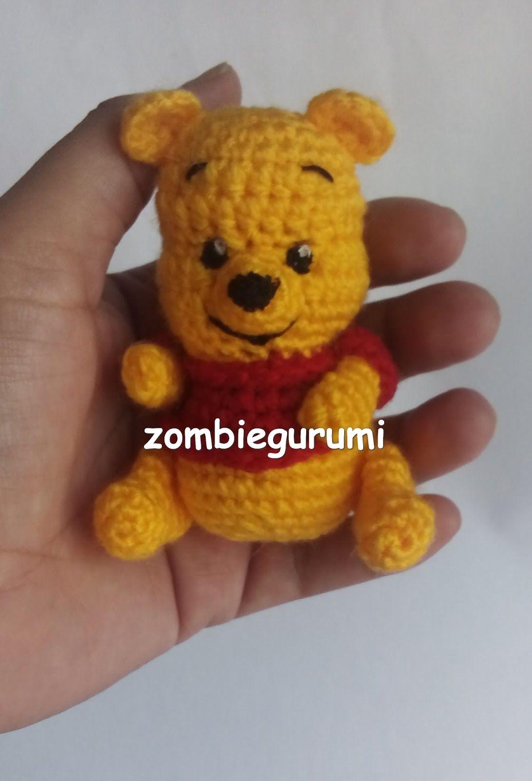 Amigurumi Osito Winnie the Pooh - Patrón Gratis en Español ...