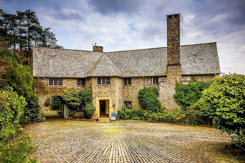 Coleton Fishacre Country Life Magazine Exterior Architectural Inspiration