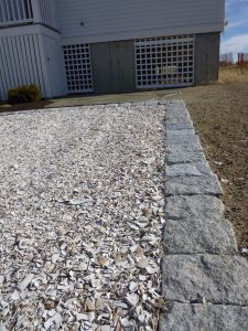 Aw Shucks A Maine Driveway Driveway Oyster Shells Bay House