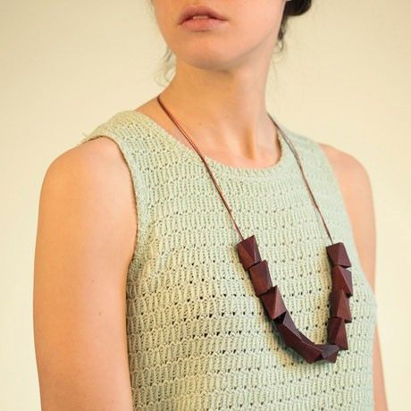 Birch Pendant Necklace by Pigeonhole   MONOQI