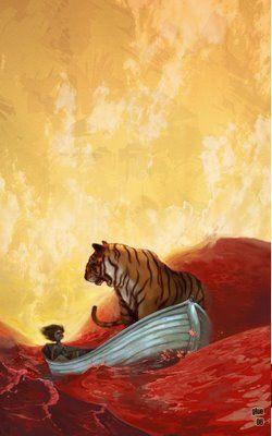 Tayeb Wabibi La Vida De Pi Ilustraciones Series Y Peliculas