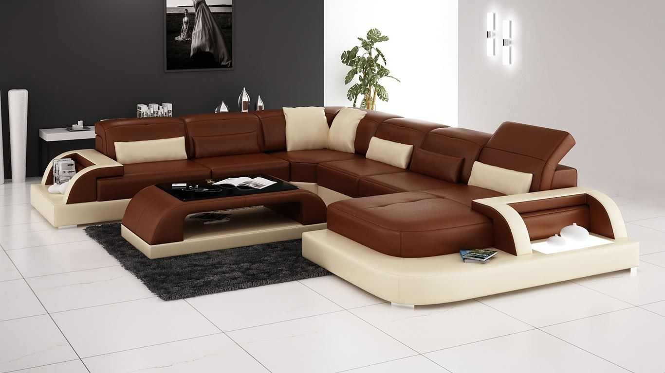 Waves Sectional Sofa   Media Room Leather Furniture   Upscale Furniture    Good Quality Furniture Online   Modern Furniture From Opulent Items  IHSO02182