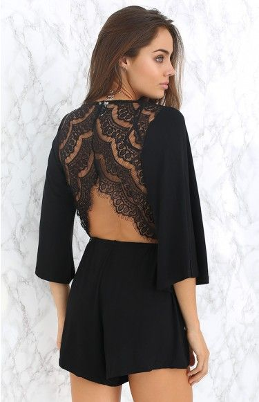 7d5dbc380d We love the Keira Playsuit with black