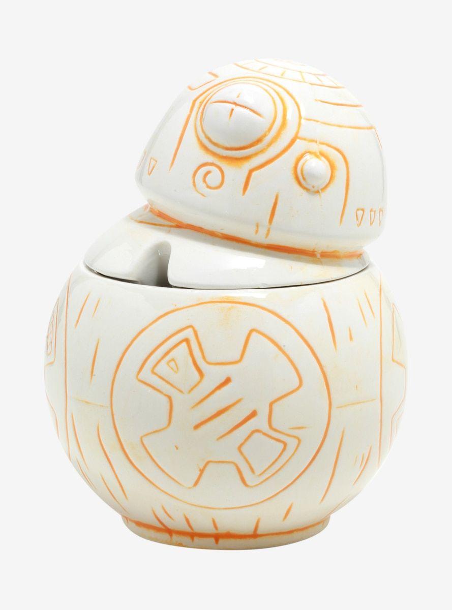 Geeki tikis star wars bb8 ceramic lidded mug crystal
