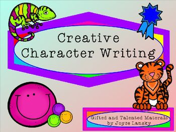 Creative Character Writing Power Point