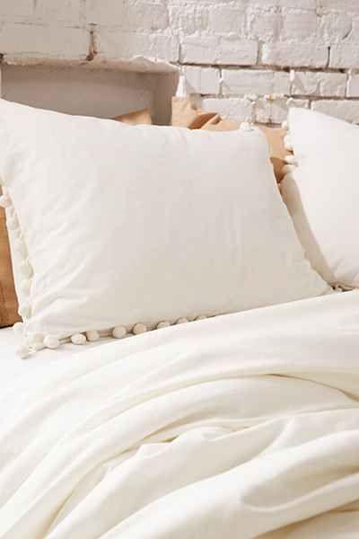 Magical Thinking Pom Fringe Sham Set Pillows Magical Thinking Pillow Covers