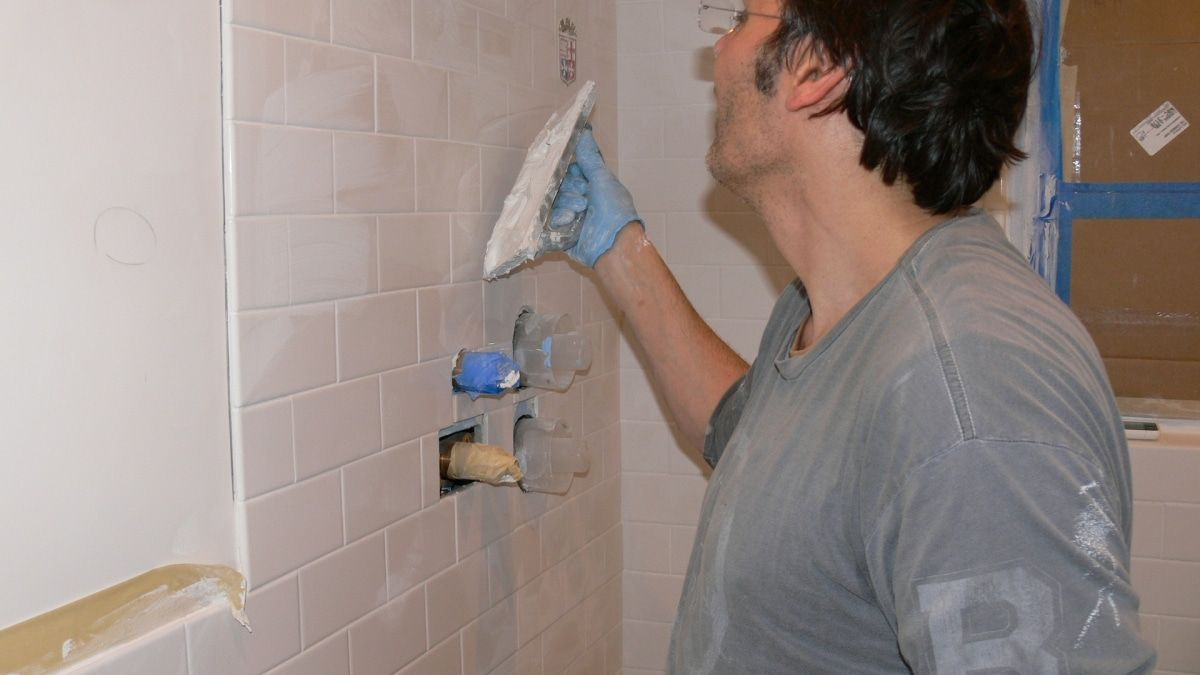 how to soften floor grout for removal