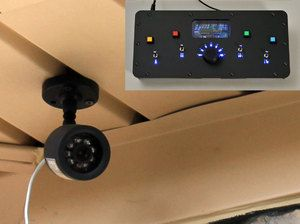 Homemade Home Security Diy How To From Make Projects Home Security Tips Home Security Systems Wireless Home Security Systems