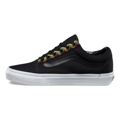 Hemp Linen Old Skool 8G1MP9 blacktrue white  Vans  b3eaf2d92