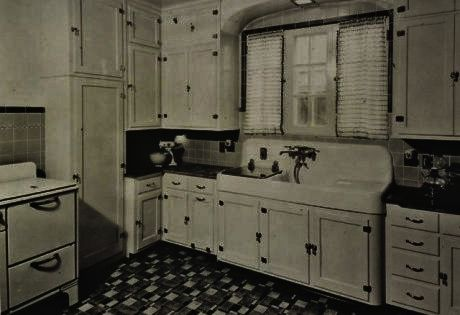 arts and crafts kitchens photos 1920 | 1930s-arts-and ...