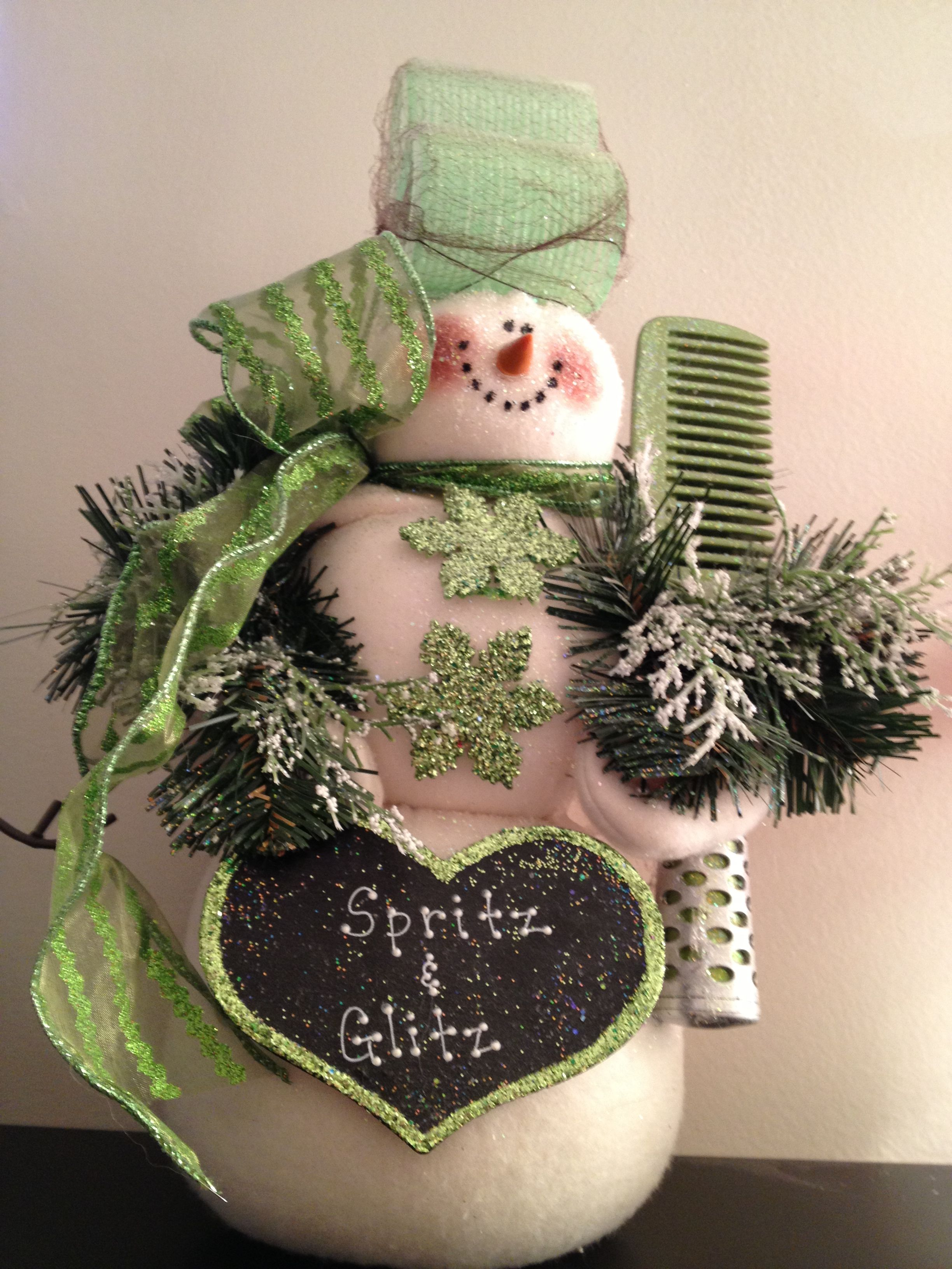 Great gift to make for your favorite hair stylist