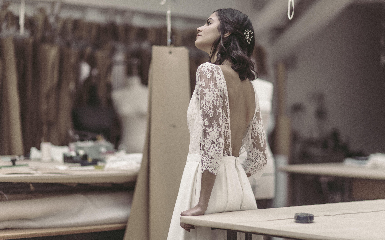 Collection civile 2017 Laure de Sagazan - Robe Anglade