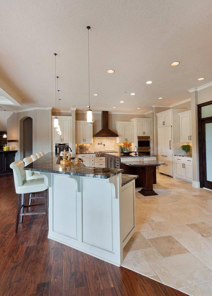 Tile To Hardwood Transition Roman Patterned Hard Wood Flooring White Bar With Black Granite Countertop Bartools Of Cool