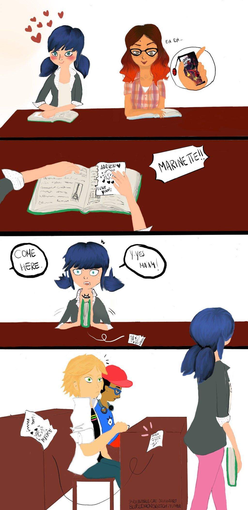 Marinette's sketch by Sariibubblecat.deviantart.com on @DeviantArt