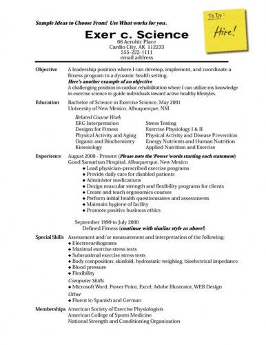 How To Write A Personal Profile For A Cv Resume Objective