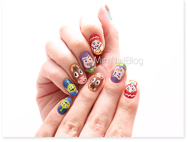 Toy Story Nail Art Please check out the video!! https://nailbees.com ...