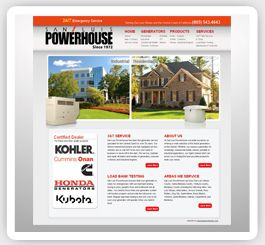 San Luis Power House Web Design Professional Website Design Web Design Branding Design