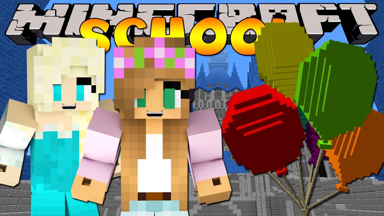 Minecraft School : LITTLE KELLY BIRTHDAY PARTY!