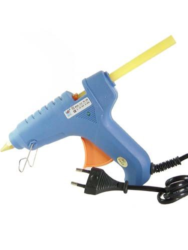 how to use glue gun for hair extensions