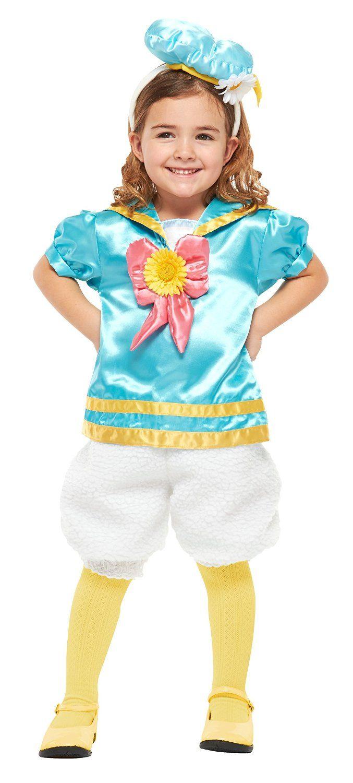 amazon | ディズニー パステルドナルド キッズコスチューム 女の子 対応