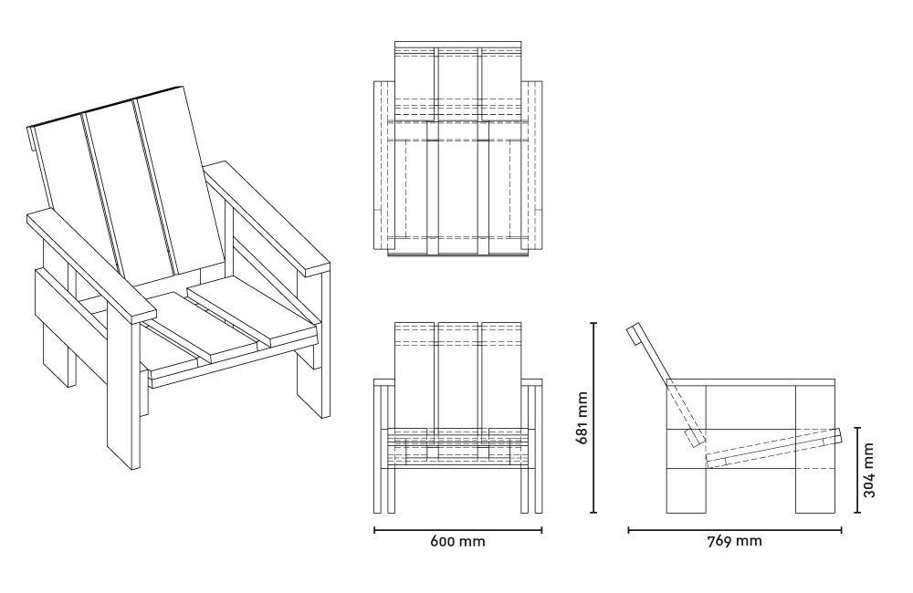 gerrit rietveld chair plans - Wallpapers photos images ...