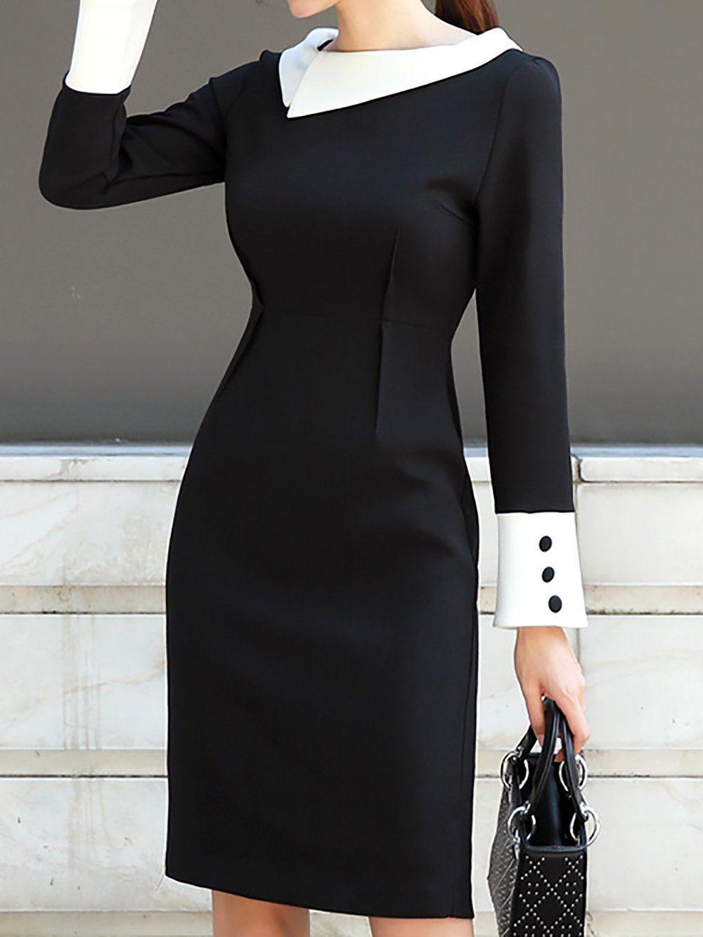 /Sexy Fashion/ Women Long/ Sleeve/ Slim/ Fold/ Bodycon Cocktail Party Mini Dress Pandaie-Womens Dresses