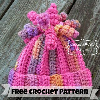 Free crochet pattern - Delaney Hat - baby to adult sizes - crazysockscrochet. Free Ravelry download.