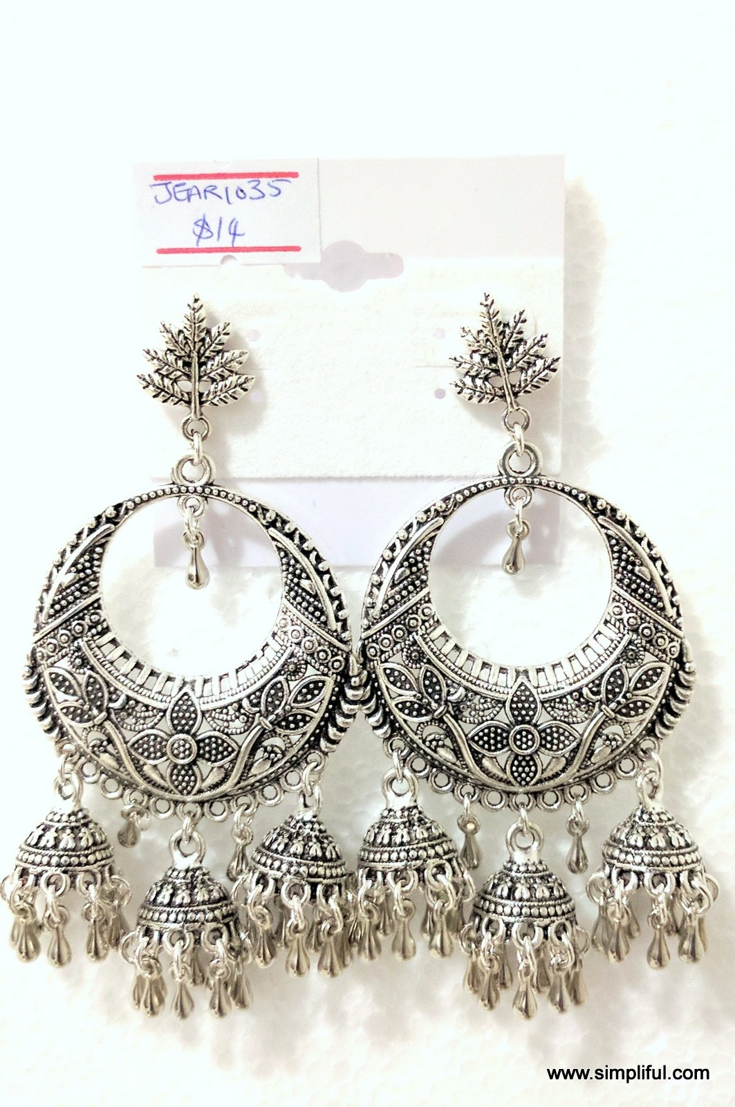 2d387bbe7 Earring length: 3.4 inches; Earring Width: 1.7 inches Please allow some  variation in color.