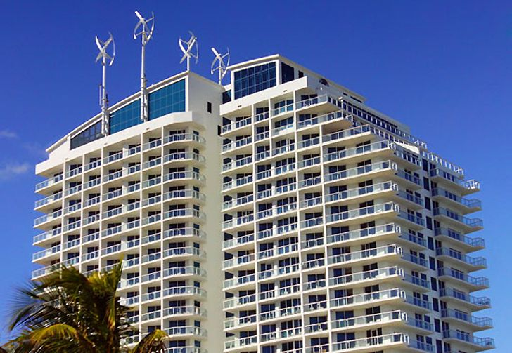 Hilton Fort Lauderdale Beach Resort Installs Six Wind Turbines On