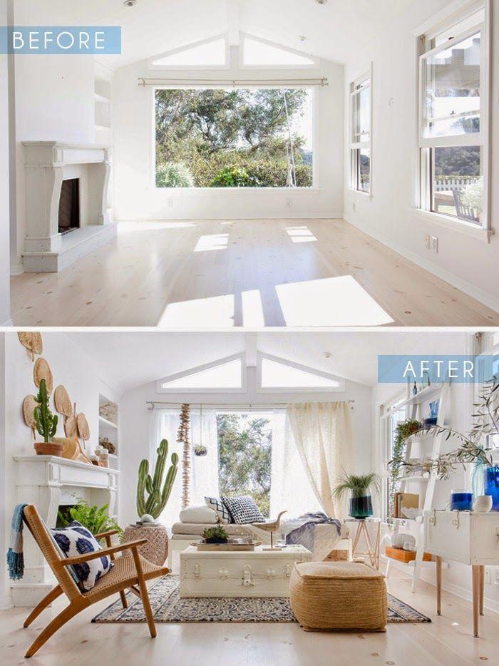 Antes y despu s de una decoraci n fresca decoraci n 1 - Decoracion de casas antes y despues ...